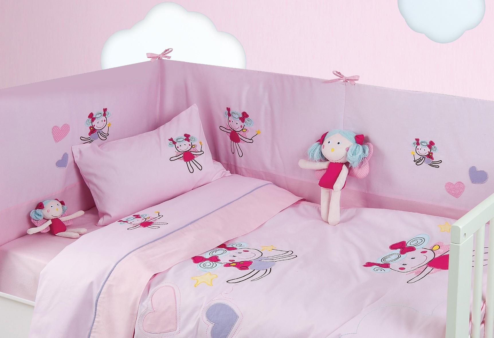 Κουβερλί Κούνιας (Σετ) Das Home Dream Embroidery 6281