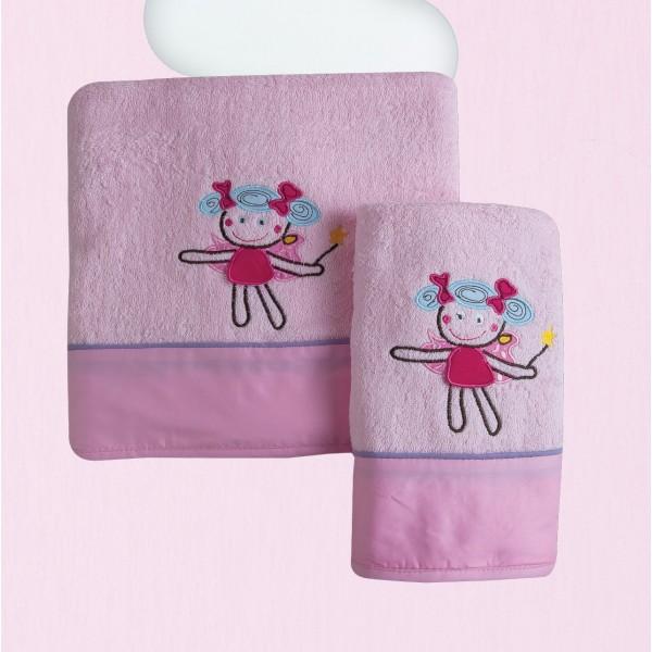 Βρεφικές Πετσέτες (Σετ 2τμχ) Das Home Dream Embroidery 6281