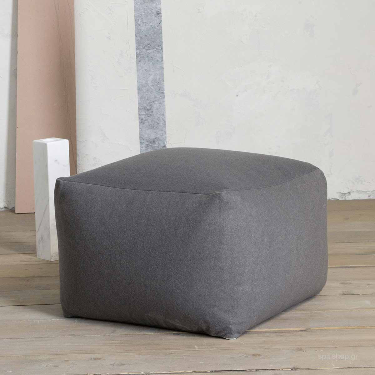 Πουφ Nima Poufs Ease Grey