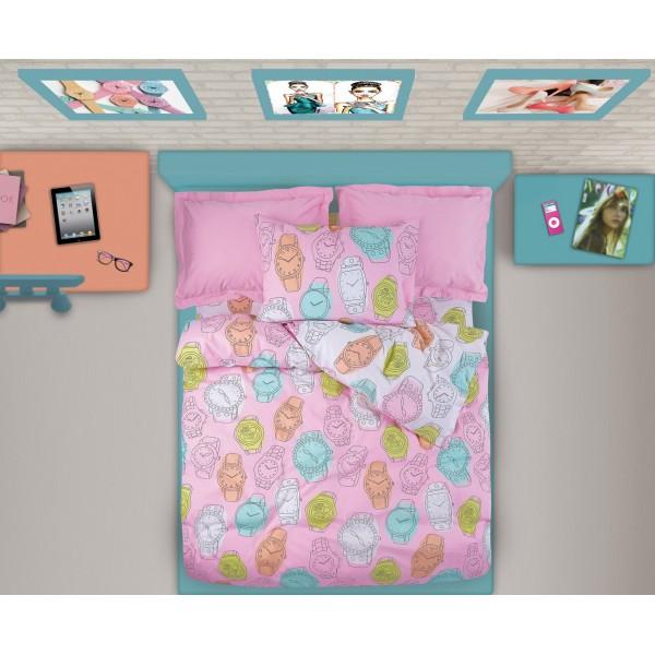 Παπλωματοθήκη Μονή (Σετ) Das Home Kid Prints 4532