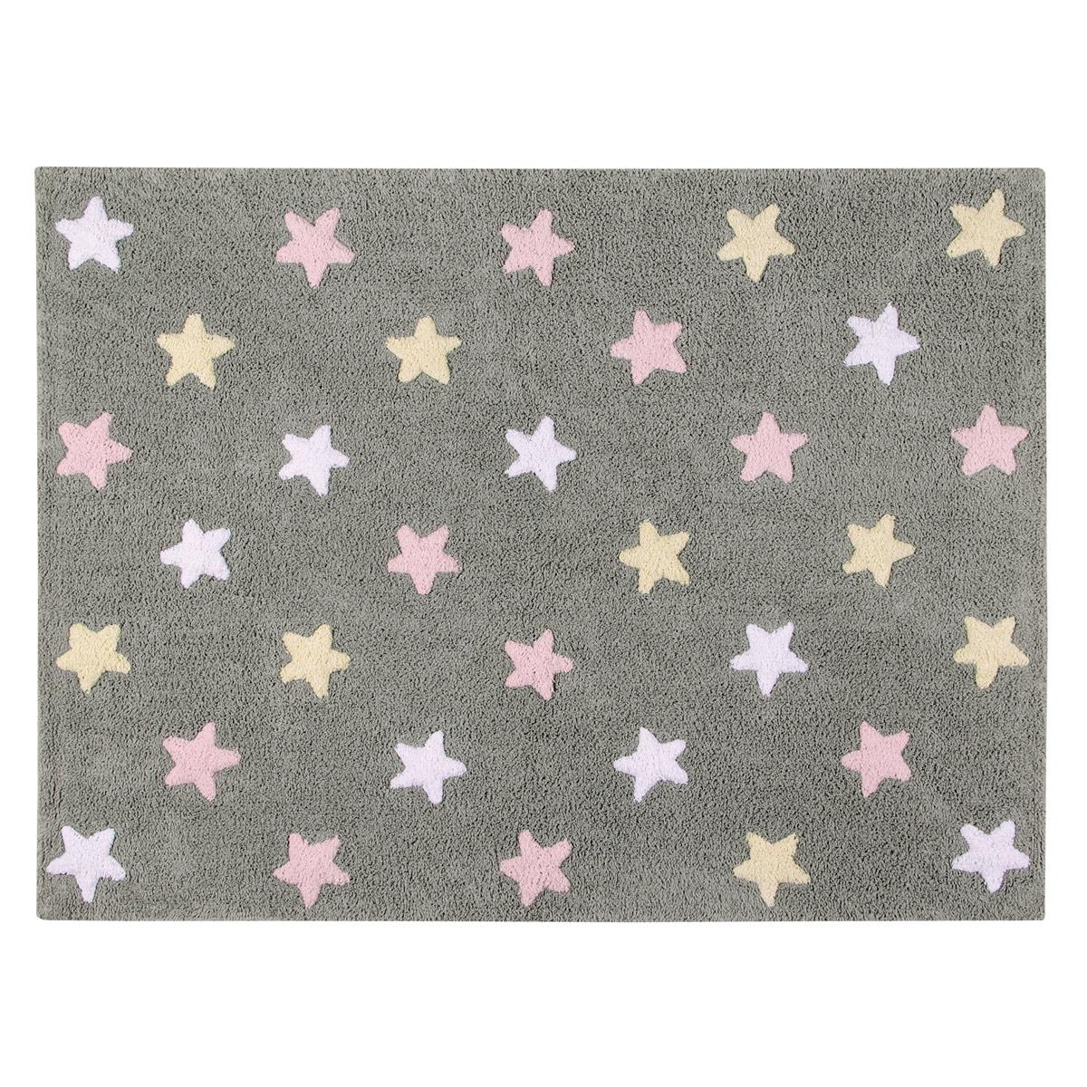 Χαλί All Season (120×160) Lorena Canals Tricolor Stars Grey-Pink