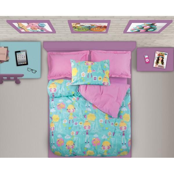 Πάπλωμα Μονό (Σετ) Das Home Kid Prints 4533
