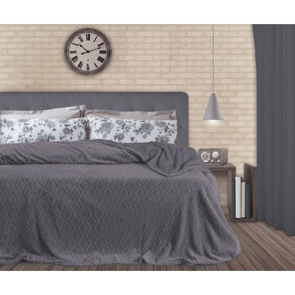 Κουβέρτα Fleece Μονή Das Home Super Soft 330