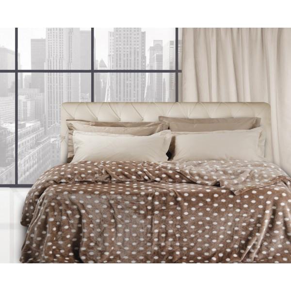 Κουβέρτα Fleece Μονή Das Home Super Soft 332