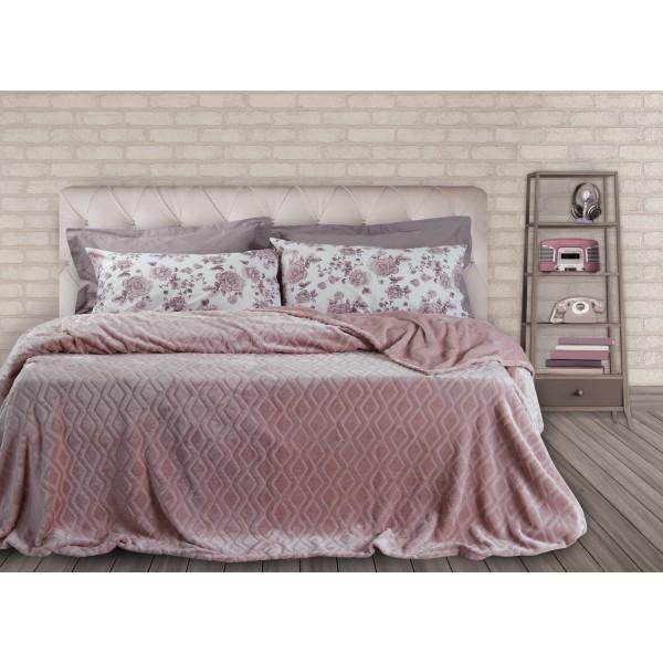 Κουβέρτα Fleece Υπέρδιπλη Das Home Super Soft 331