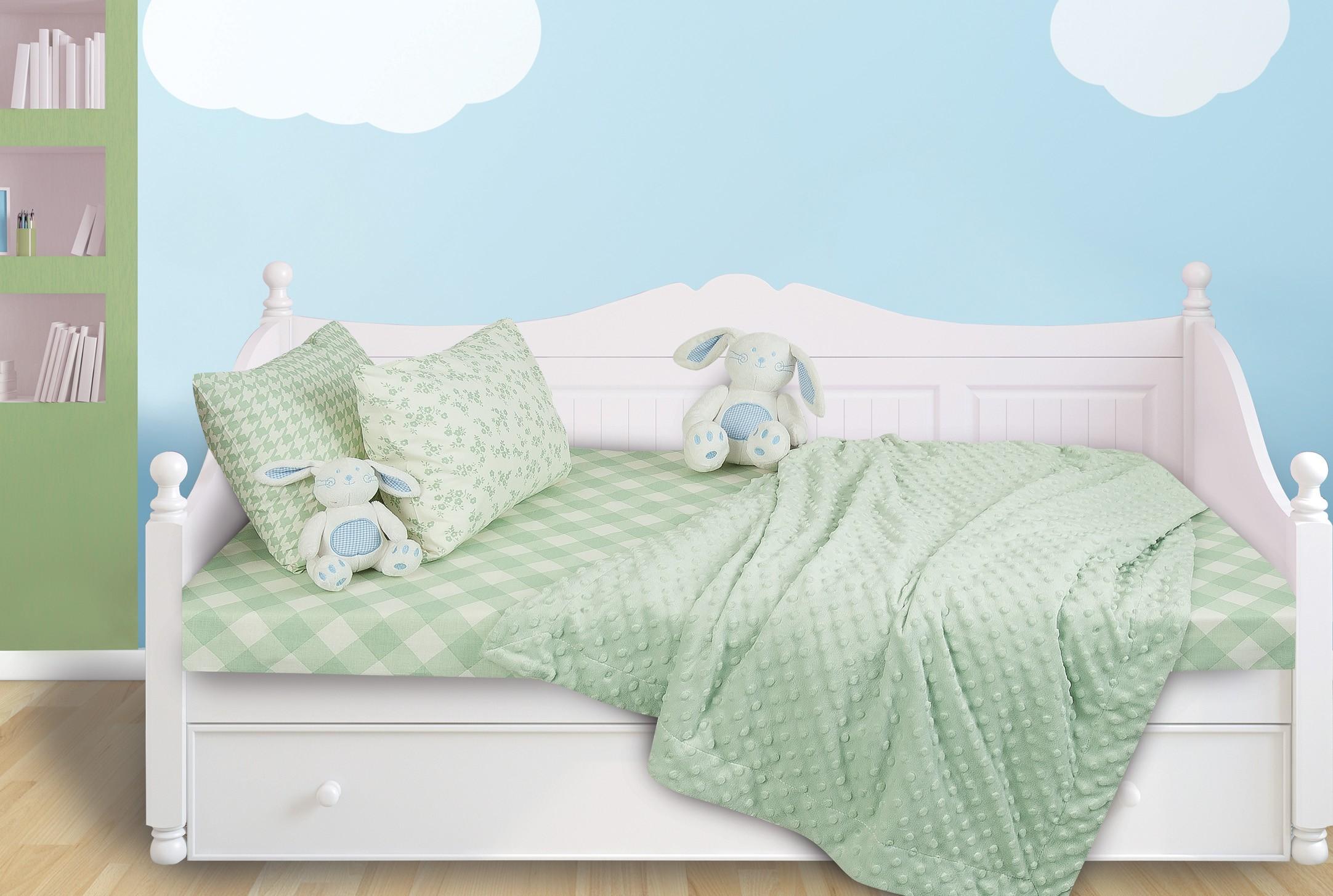 Κουβέρτα Fleece Κούνιας Das Home Relax Line 6296