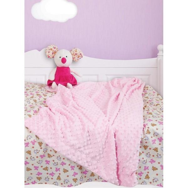 Κουβέρτα Fleece Κούνιας Das Home Relax Line 6298