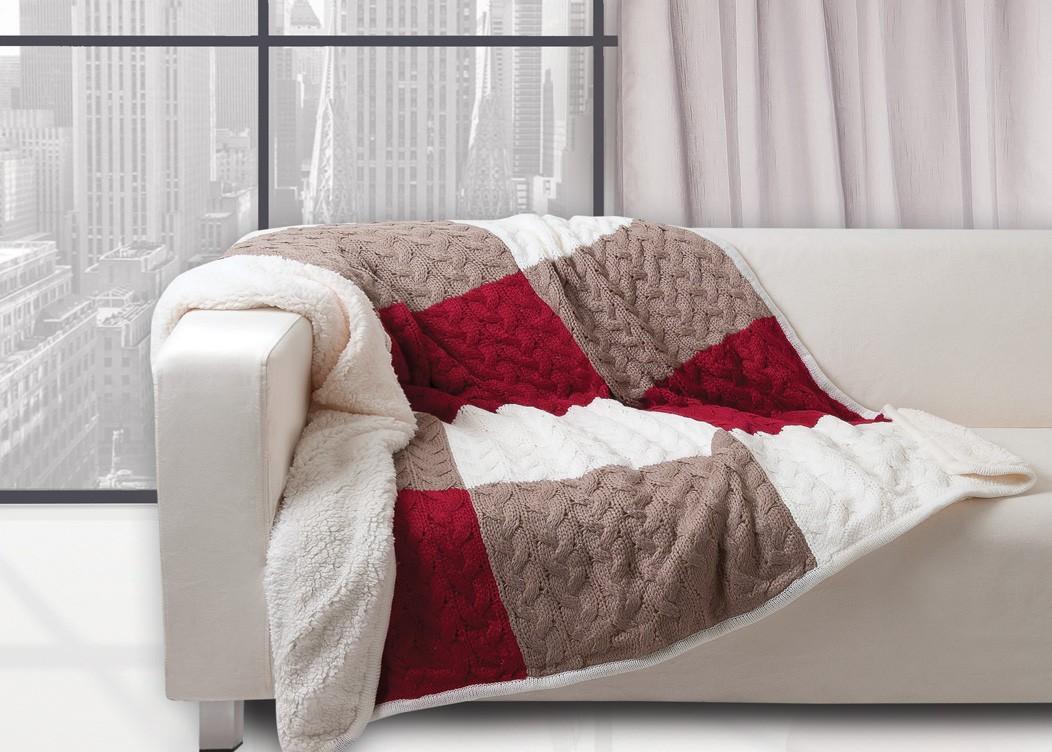 Κουβέρτα Καναπέ Πλεκτή Das Home 319 home   σαλόνι   κουβέρτες καναπέ