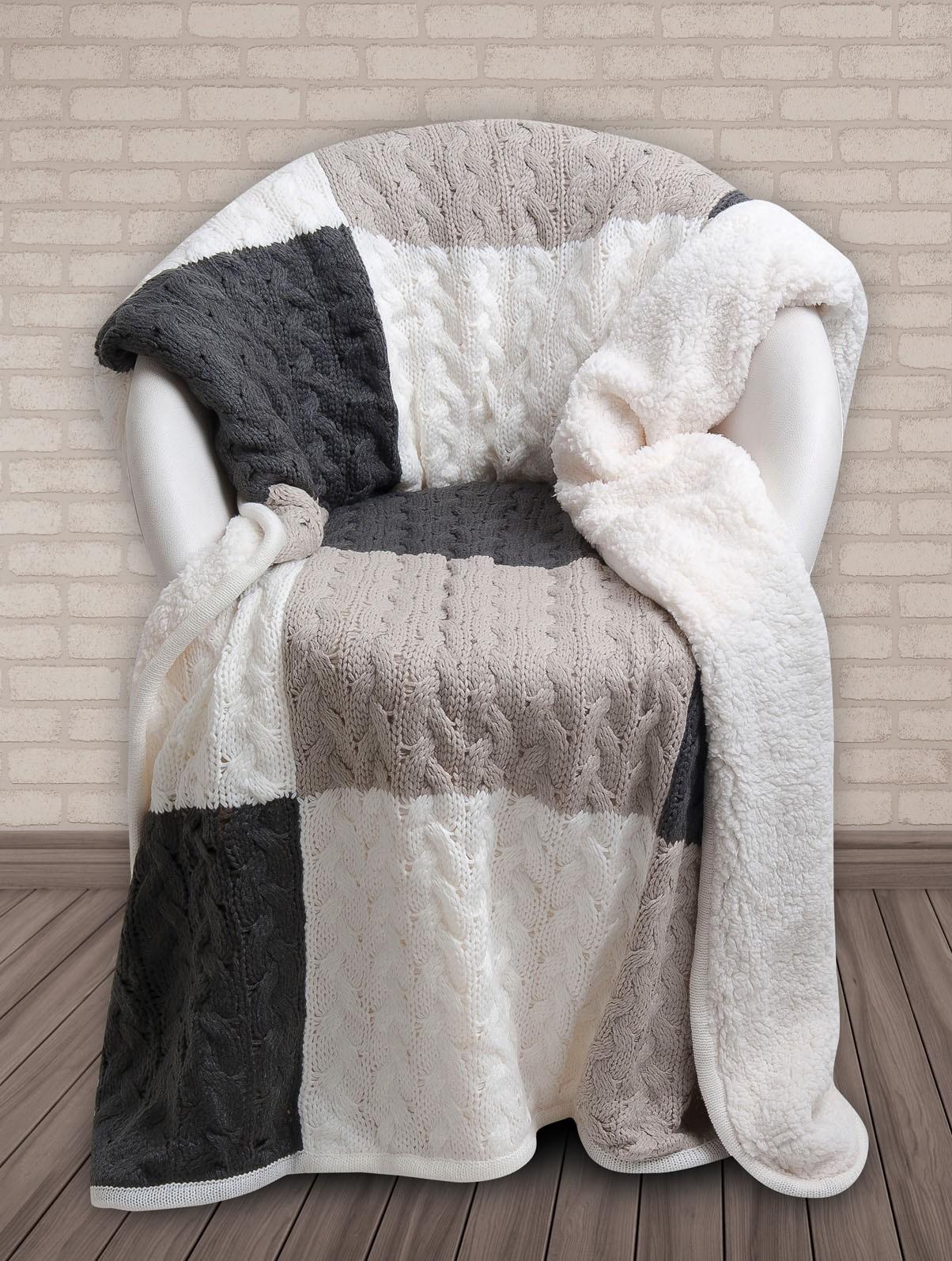 Κουβέρτα Καναπέ Πλεκτή Das Home 320 home   σαλόνι   κουβέρτες καναπέ