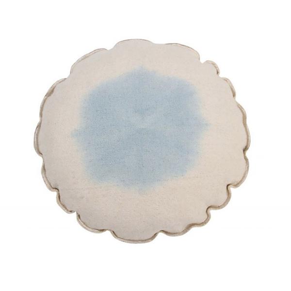Διακοσμητικό Μαξιλάρι (Φ40) Lorena Canals Tie Dye Soft Blue