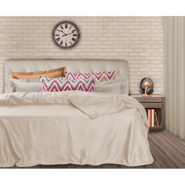 Κουβέρτα Fleece Υπέρδιπλη Das Home Blanket Line 334