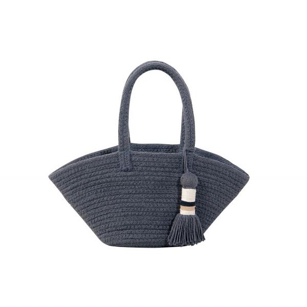Καλάθι Αποθήκευσης/Τσάντα Lorena Canals Mini Cistell Dark Grey