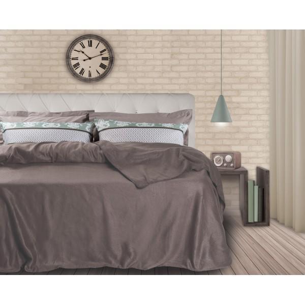 Κουβέρτα Fleece Υπέρδιπλη Das Home Blanket Line 336