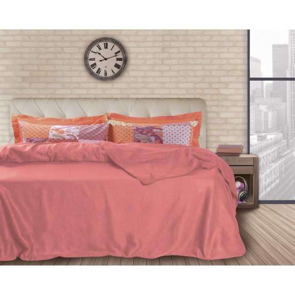 Κουβέρτα Fleece Υπέρδιπλη Das Home Blanket Line 338