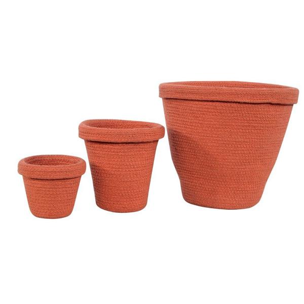 Καλάθια Αποθήκευσης (Σετ 3τμχ) Lorena Canals Pots