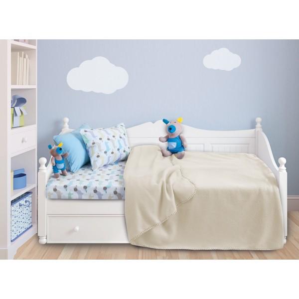 Κουβέρτα Fleece Κούνιας Das Home Relax Line 6303