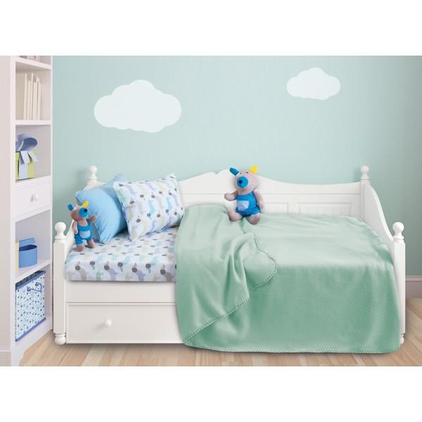 Κουβέρτα Fleece Κούνιας Das Home Relax Line 6305