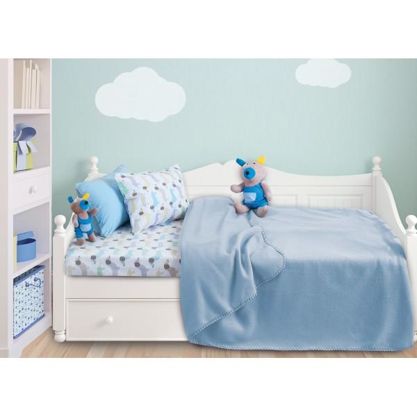 Κουβέρτα Fleece Κούνιας Das Home Relax Line 6306