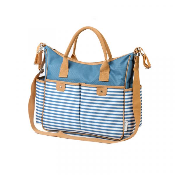 Τσάντα Αλλαγής BabyOno So Sity Ριγέ Μπλε BN1423/01