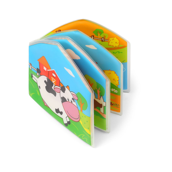 Βιβλίο Δραστηριότητας Μπάνιου BabyOno Άγρια Φάρμας BN889
