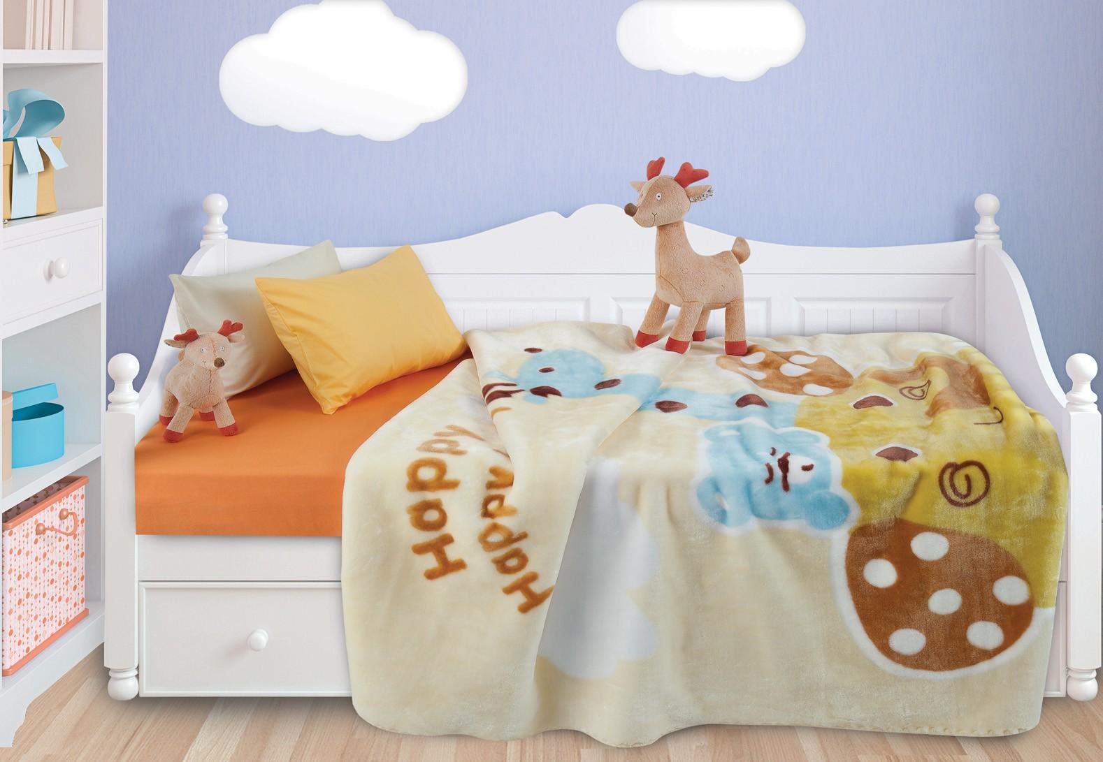 Κουβέρτα Βελουτέ Κούνιας Das Home Relax Line 6310 home   βρεφικά   κουβέρτες βρεφικές   κουβέρτες βελουτέ