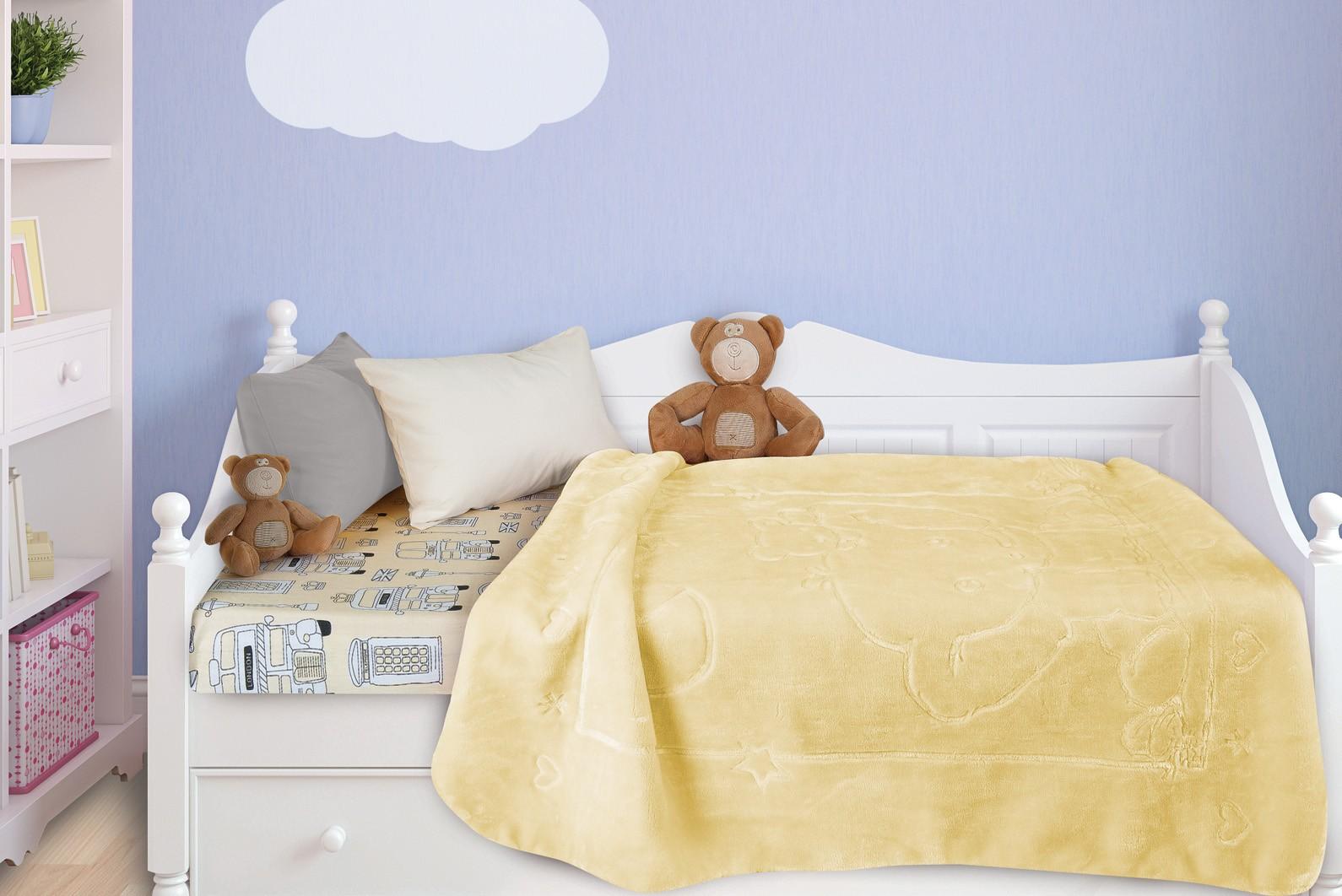 Κουβέρτα Βελουτέ Κούνιας Das Home Relax Line 6315