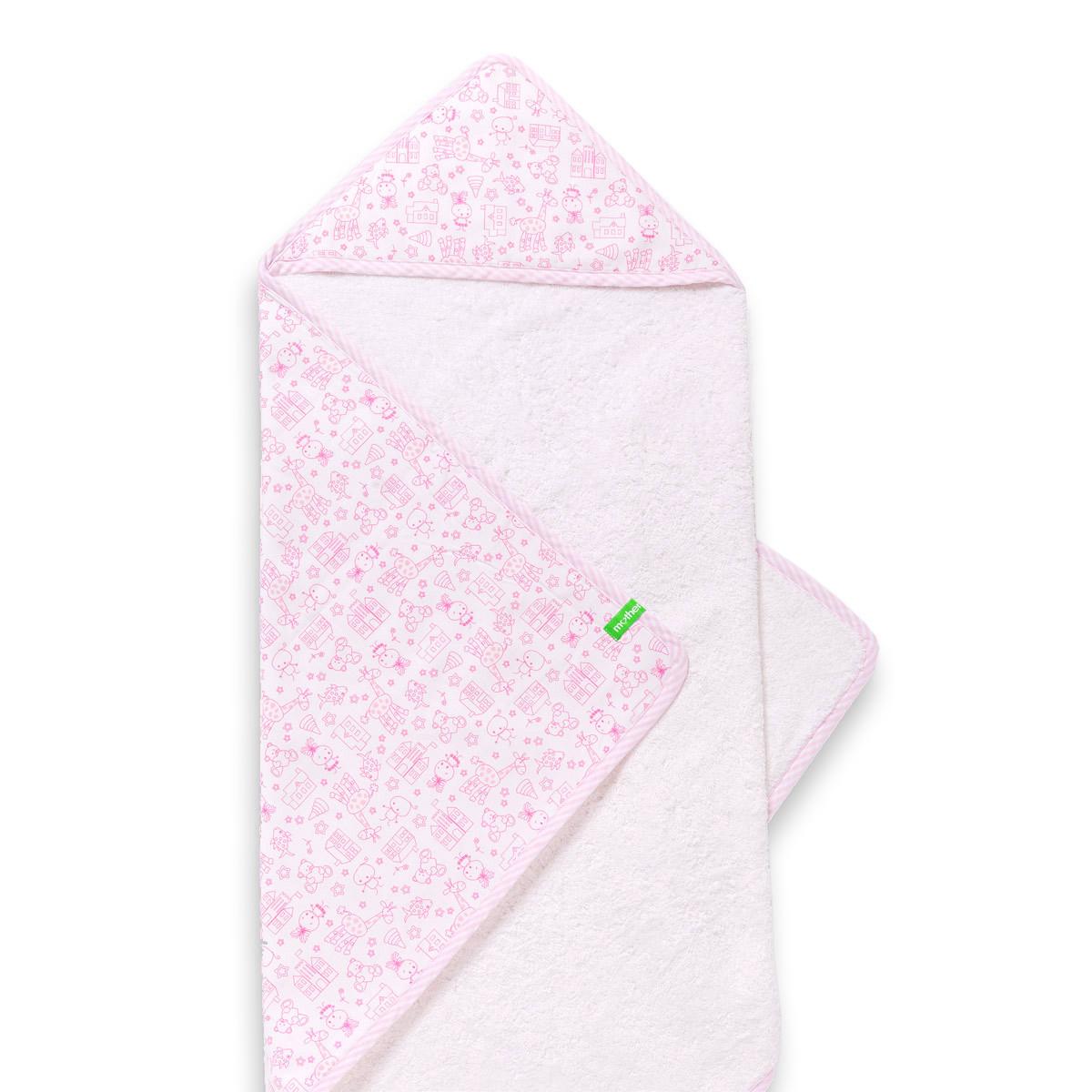Βρεφική Κάπα Mother Touch Akira Totally Pink