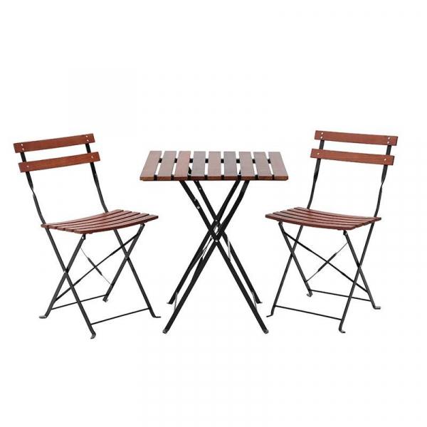 Τραπέζι Με Καρέκλες (Σετ 3τμχ) CL 3-50-040-0001