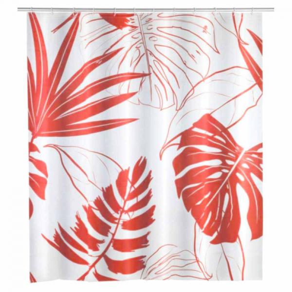 Κουρτίνα Μπάνιου Πλαστική (180x200) Wenko Brasil Coral 23821100