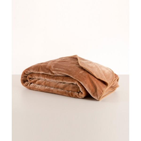Κουβέρτα Βελουτέ Υπερδιπλη Ισπανίας Kentia True Colours Mellow 1