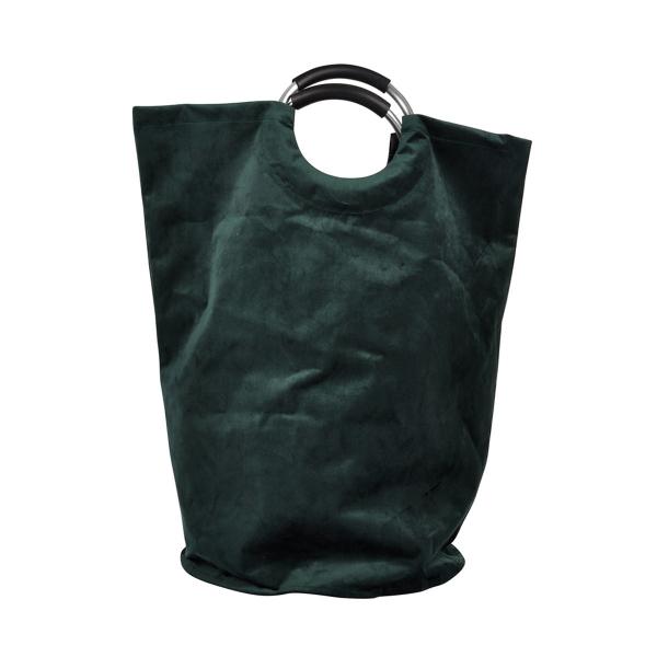 Καλάθι Απλύτων (36x36x61) L-C Velvet Vert Fonce 6GMB549VF