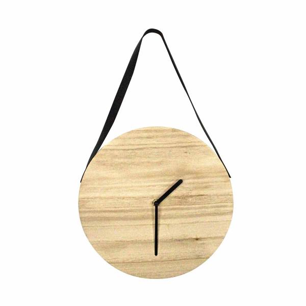 Ρολόι Τοίχου L-C Cosy Loft Naturel 6HOR010