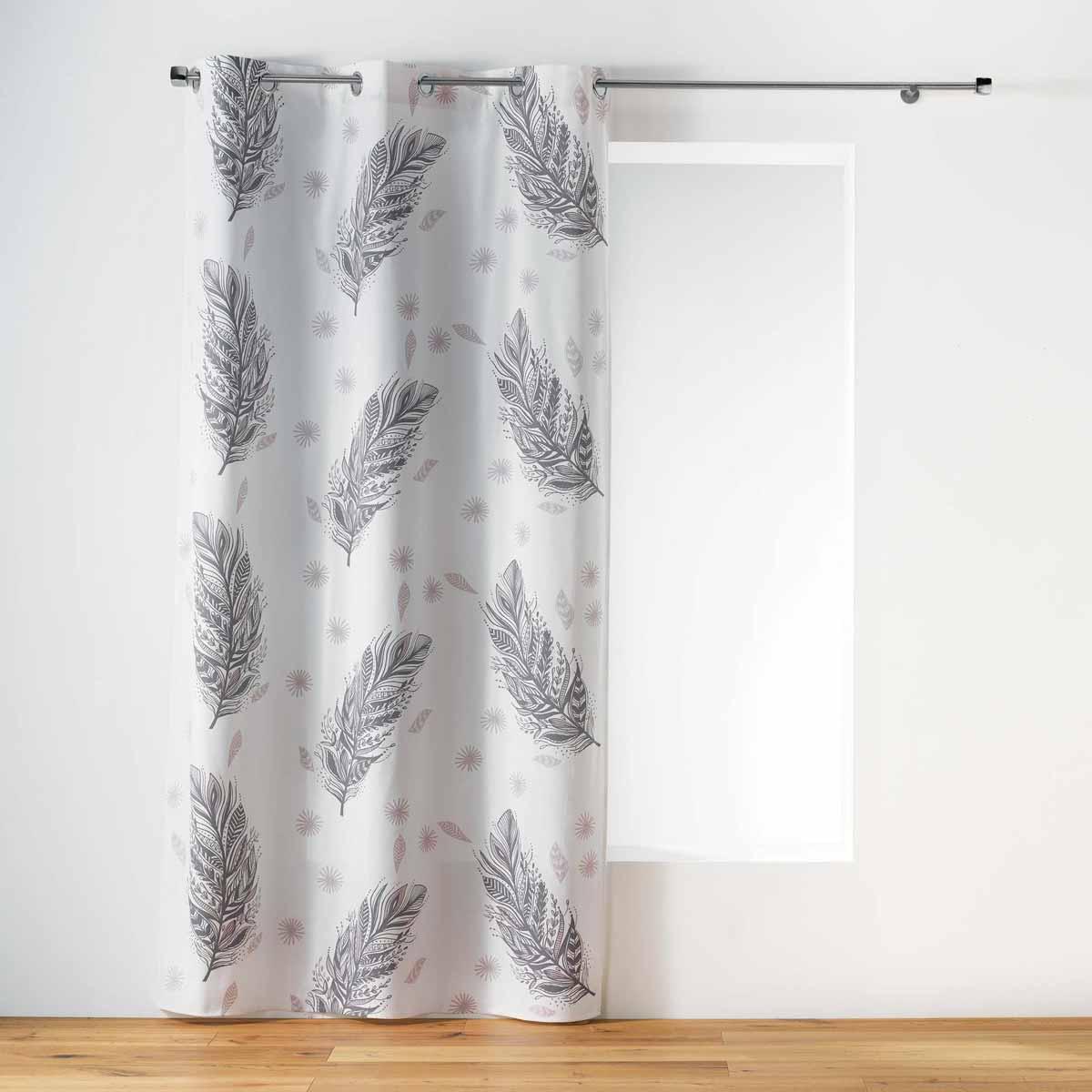 Κουρτίνα (140×240) Με Τρουκς L-C Nerra Naturel 1408657