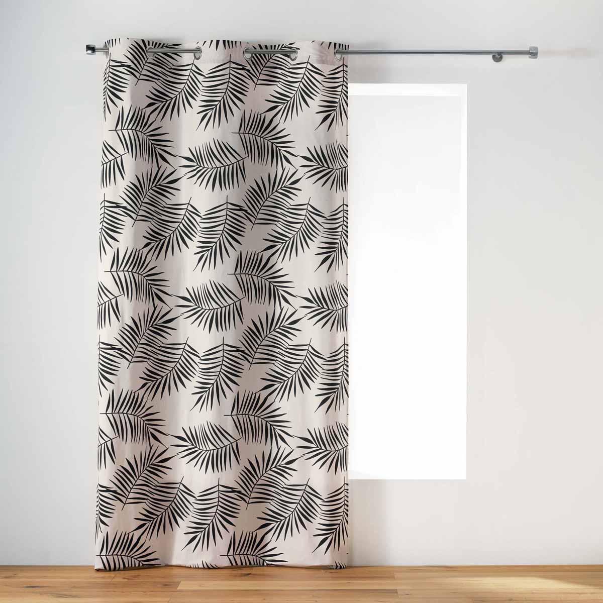 Κουρτίνα (140×240) Με Τρουκς L-C Ning Rideau Naturel 1408659