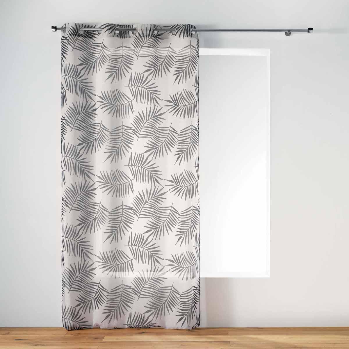 Κουρτίνα (140×240) Με Τρουκς L-C Ning Voilage Naturel 1408660