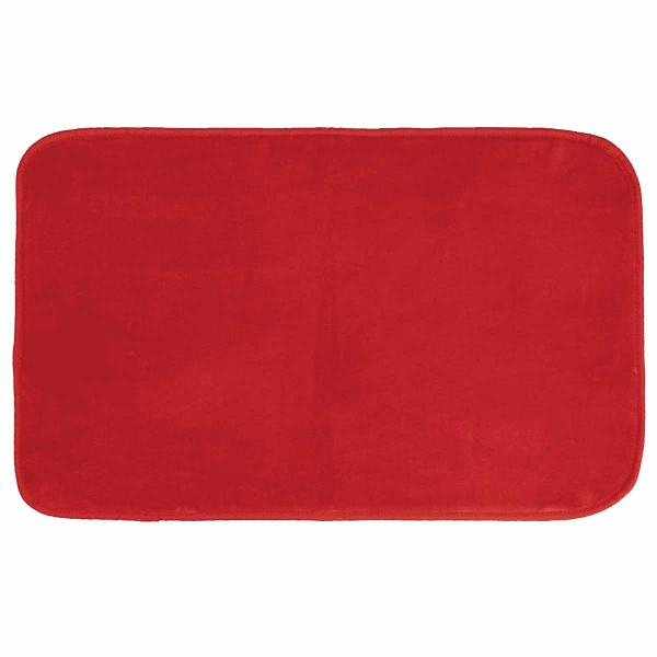Πατάκι (50x80) L-C Velvet Louna Rouge 1603053