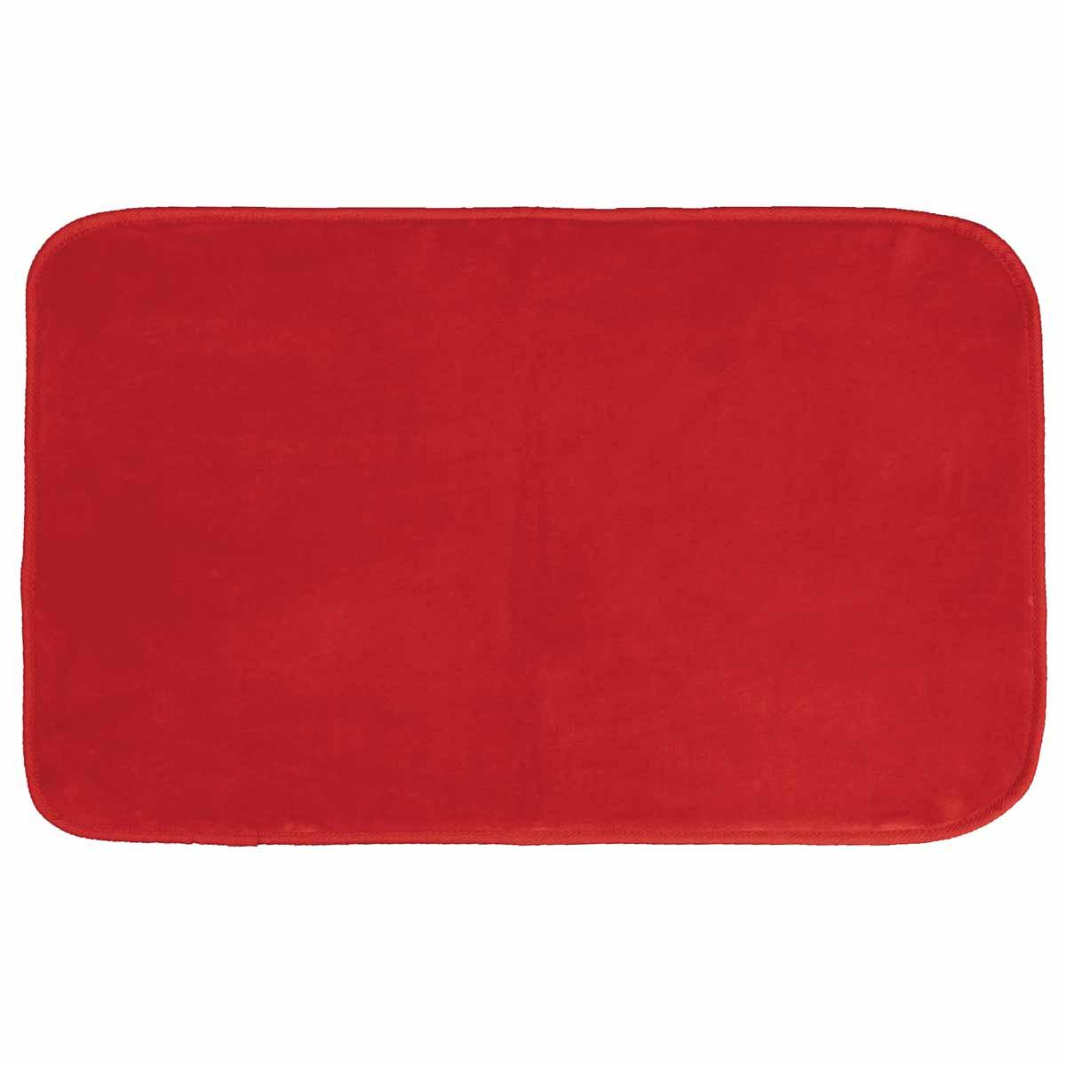 Πατάκι (50×80) L-C Velvet Louna Rouge 1603053