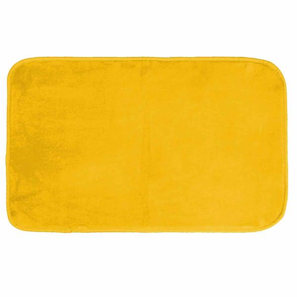 Πατάκι (50x80) L-C Velvet Louna Moutarde 1605956