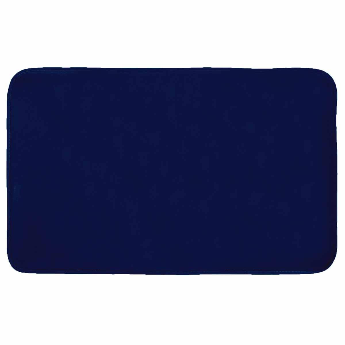 Πατάκι (50×80) L-C Velvet Louna Bleu Nuit 1607798
