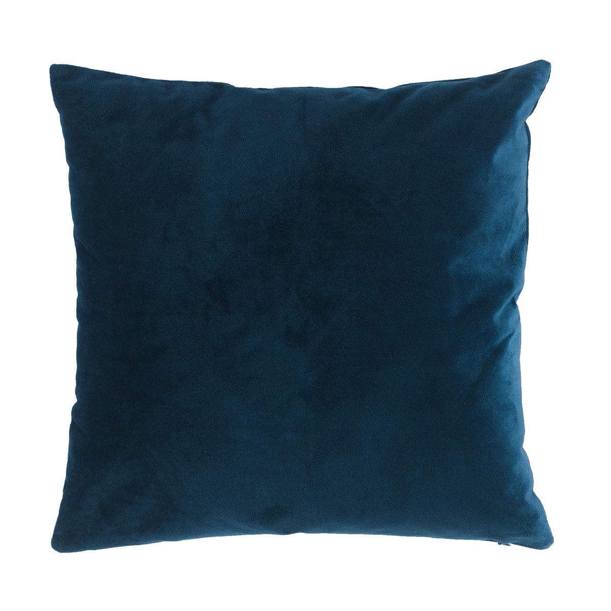 Διακοσμητικό Μαξιλάρι (40×40) L-C Veloutea Bleu 1608320