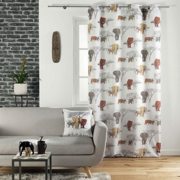 Κουρτίνα (140x260) Με Τρουκς L-C Toundra Rideau 1608671