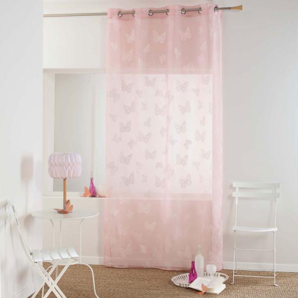 Κουρτίνα (140x240) Με Τρουκς L-C Amalia Rose 1626000