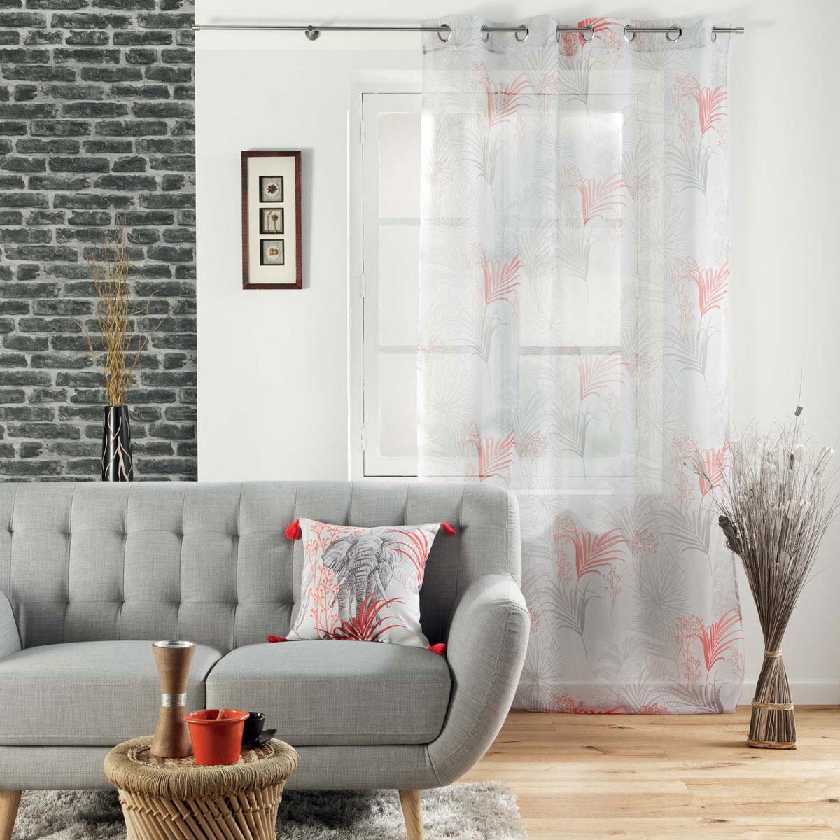 Κουρτίνα (140×240) Με Τρουκς L-C Evaneos 1626433