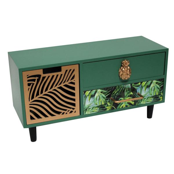 Συρταριέρα/Μπιζουτιέρα Tropical Green 1670008