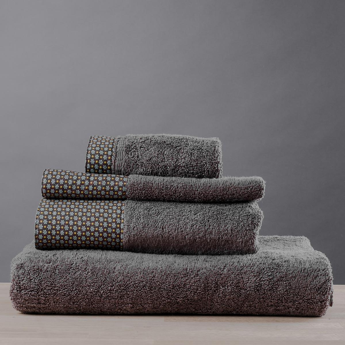 Πετσέτα Χεριών (30×50) White Fabric Dante Beige