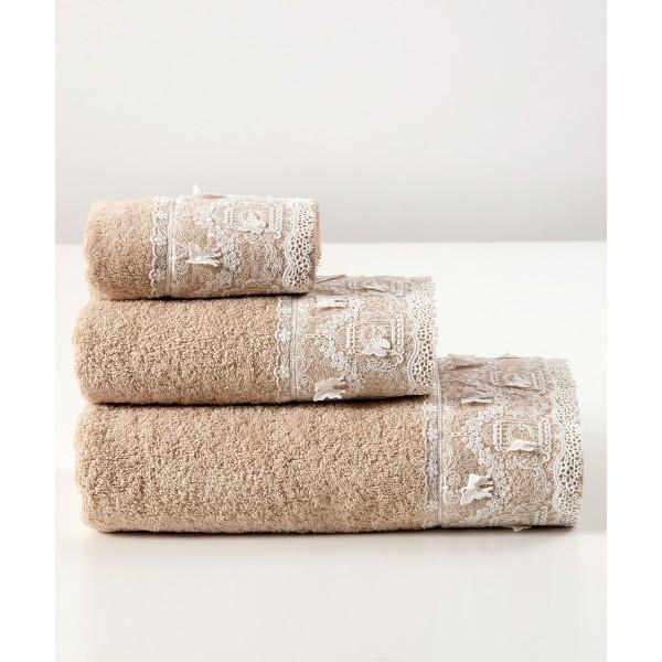Πετσέτες Μπάνιου (Σετ 3τμχ) Kentia Origami 26