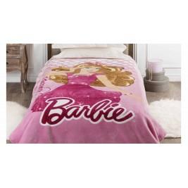 Κουβέρτα Βελουτέ Μονή Kentia Kids Barbie 060