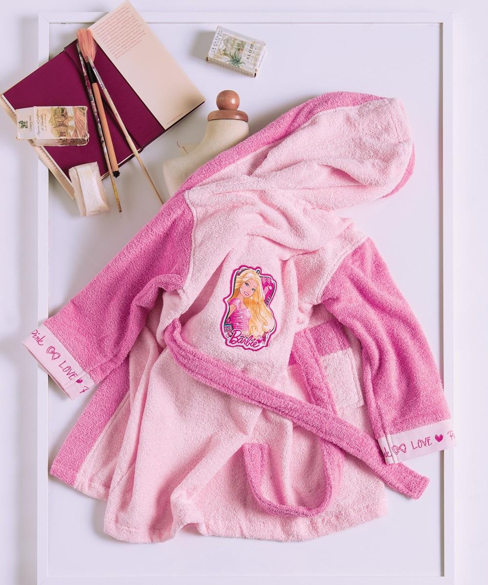 Παιδικό Μπουρνούζι Kentia Kids Collection Barbie 26R 2 2