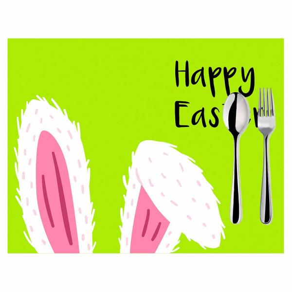 Σουπλά (Σετ 2τμχ) Mike & Co Happy Easter 790-4263/1