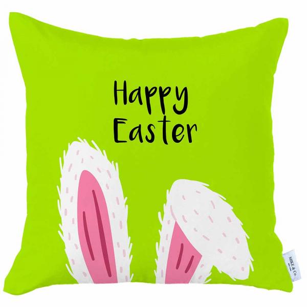 Διακοσμητική Μαξιλαροθήκη (45x45) Mike & Co Happy Easter 712-4270/1